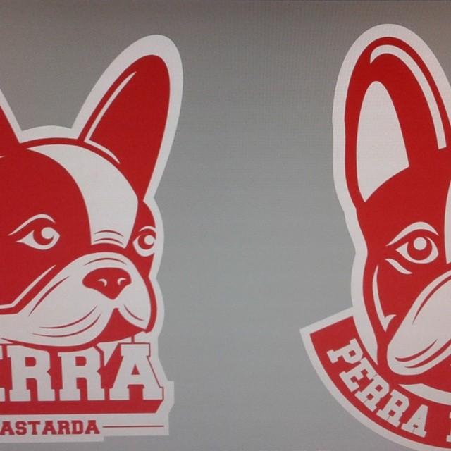 Espíen el nuevo logo  Shh!!! #perrabastarda #logo #bulldogfrances #frenchie #frenchbulldog
