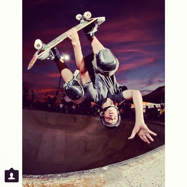 Regram @radballs @tristanrennie #invert #revert last year up in #sanjose #timbrauch contest . We used this photo in an #s1helmets ad in #transworldskateboarding #tristanweek
