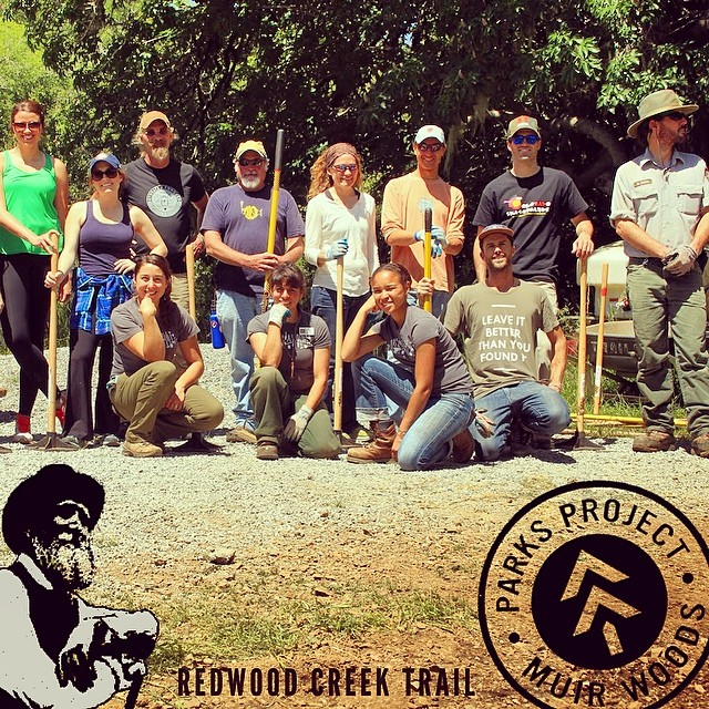Last weekend we did what we do best; got our hands dirty and helped #promoteprotectpreserve more #radparks. Check out the Field Notes (parksproject.us/fieldnotes) on our recent trail restoration day at Redwood Creek Trail in Muir Woods. A big thank you...