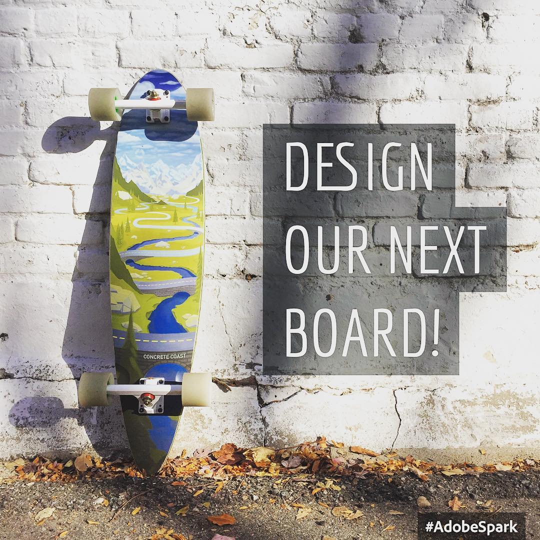 November board design contest is open for entries!  This months theme is VIBRANT and the winner receives board #1 of 100.  Click link in profile to view contest and enter today!