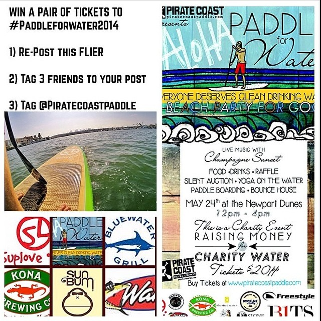 Have you entered the @PirateCoastPaddle giveaway yet? #CuipoWater is excited to be sponsoring #PaddleForWater2014 to help bring clean drinking water to developing nations!