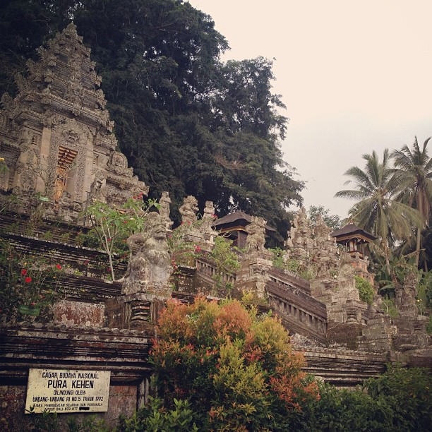 The oldest temple in Bali, Indonesia. And by far the coolest. #indianajones
