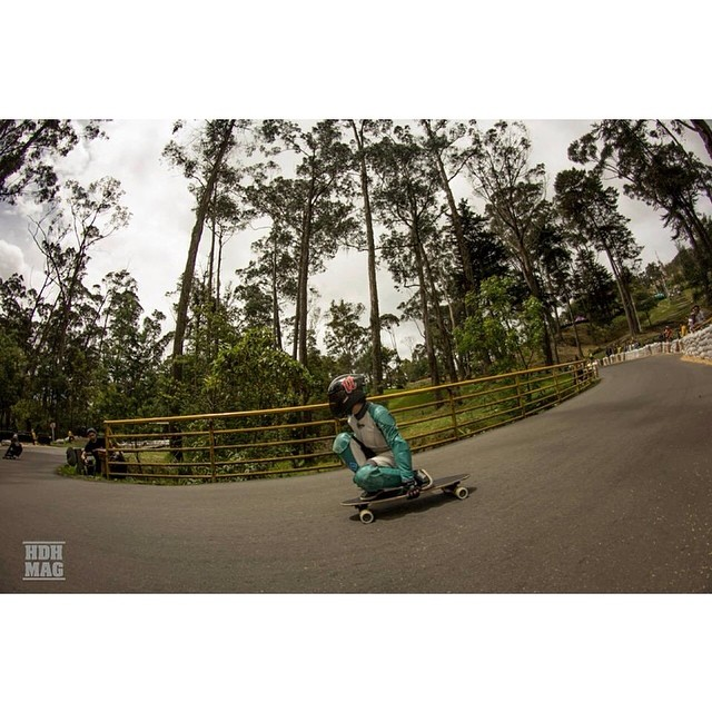 Go to www.longboardgirlscrew.com and check Laura Vargas (in the picture) & Jenny Salazar from #longboardgirlscrew #colombia going boss fast. @hdhmag photo #girlswhoshred #lauravargas