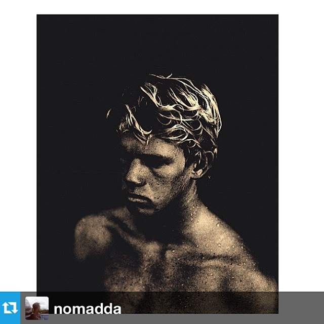 John-John Florence shot by Cole Barash aka @nomadda for his upcoming photo book on the North Shore.  #repost from @nomadda - original gram here- http://instagram.com/p/oUeH1IMJge/