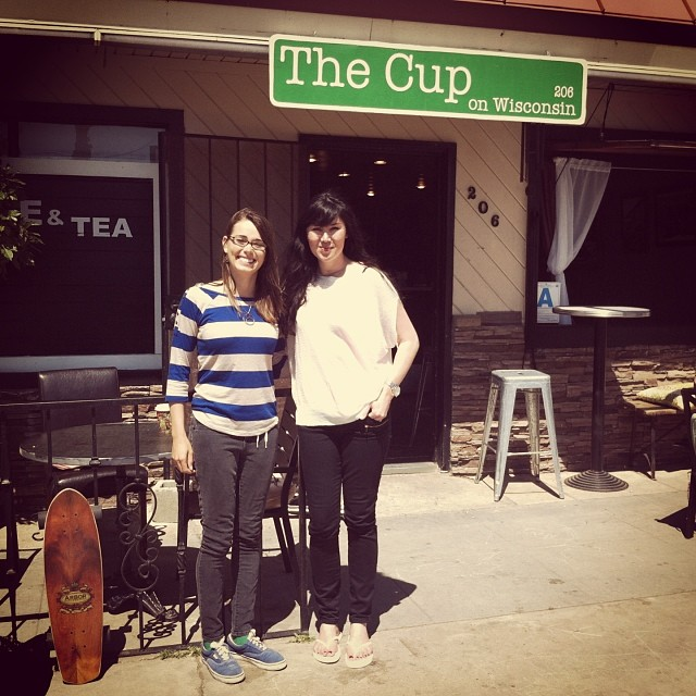Where deals are made and relationships grow! So excited to be a sponsor of #Exposure2014 #thecup #Oceanside #Socal #coffeemeeting @ameliabrodka @exposureskate