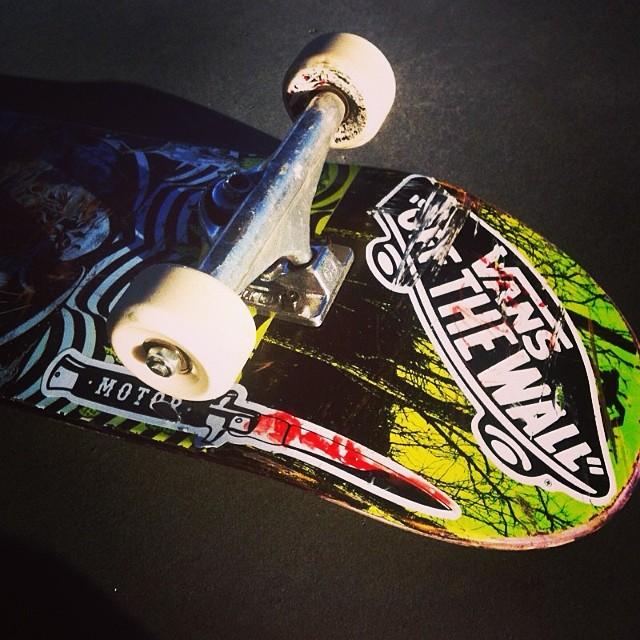 El skate de @manu_dominguez #skate #culturavans