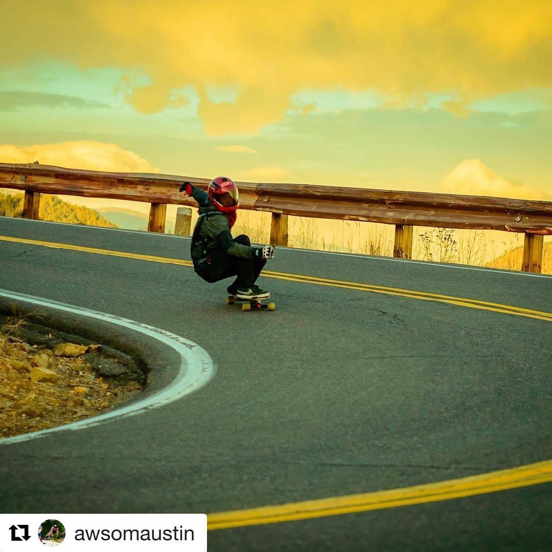 #Repost @awsomaustin thanks for sharing this incredible shot! ・・・ @rockymntraider caught this colorful sunrise shot of me hooking up focusing on the apex!