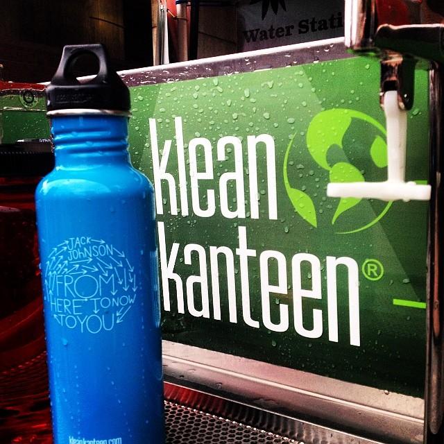 Loving the @kleankanteen  refill stations @ #bostoncalling #aaoplasticfree #loveblue