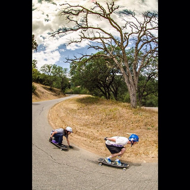 @_jensen_7 killing it while wrapping up his #brucinusa tour! He has been joined by team mate and rad cat @_littlecreek_ for the California coastal carnage! #calibertrucks PC: @jahdabo