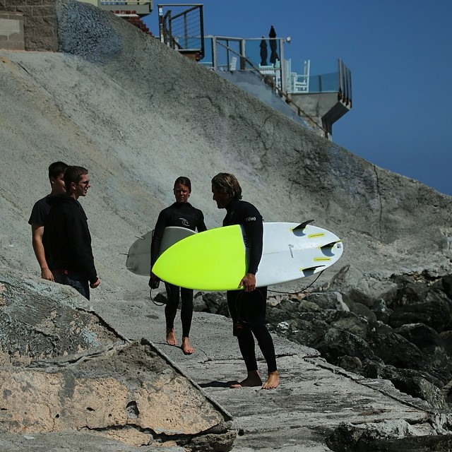chris at RV #teamawesome #awesome #awesomesurfboards #surf #santacruz#peanutter#sled #madeincalifornia