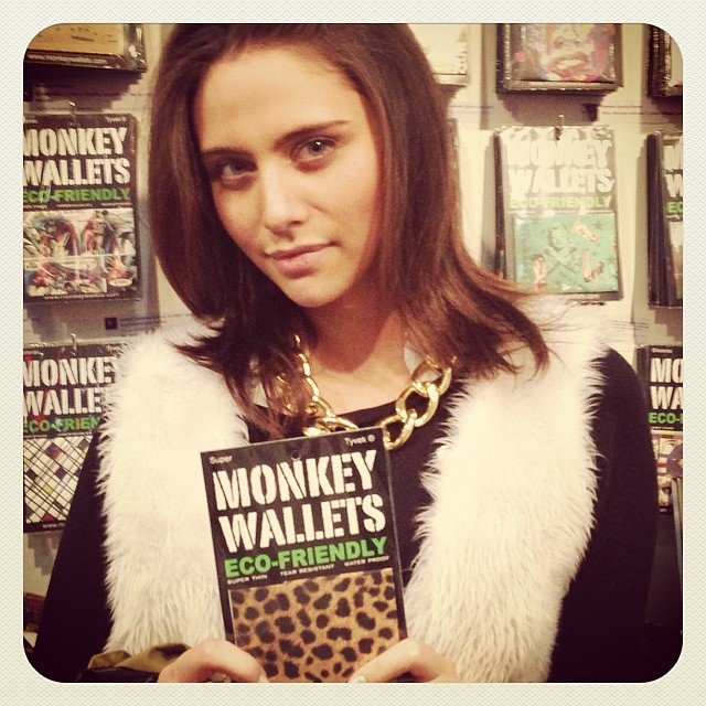 #monkeywallets #fpd2014 #fashion #tyvek #wallets @monkeywallets