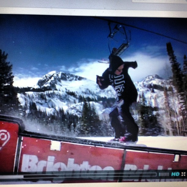 Derek Dennison ( @dtd801 ) has got a new edit out from @brightonresort! Check out our Facebook to find the link. Facebook.com/NicheSnowboards