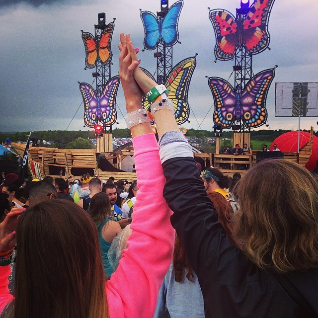 Playing hard on this long weekend. #mysteryland #edm #plur #livelokai