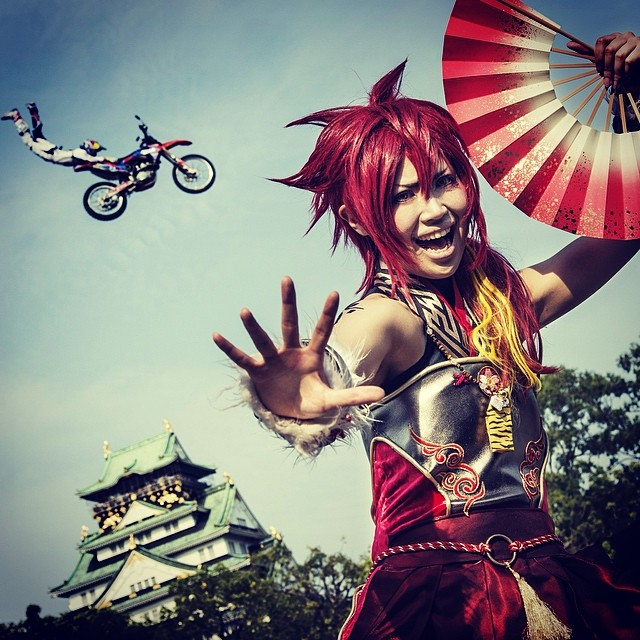We went for it big in Japan. #xfighters #osaka @redbullxfighters @danytorres71