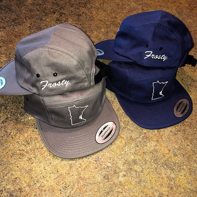 Being released today on www.frostyheadwear.com as well as a Memorial Day #5panel and #snapback sale. 25% off all snapbacks and 5 panels coming soon. #frostyheadwear #madeinMN