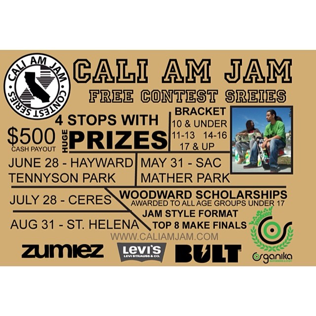 First stop of the Cali Am Jam is this weekend in SAC! Come out and shred! #bulthelmets