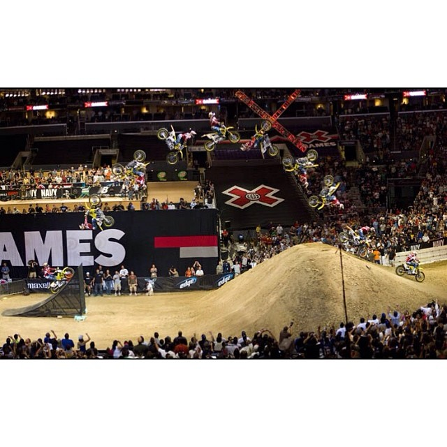"""The moment"" @travispastrana #CountdowntoAustin #XGames  Photo @christianpondella"