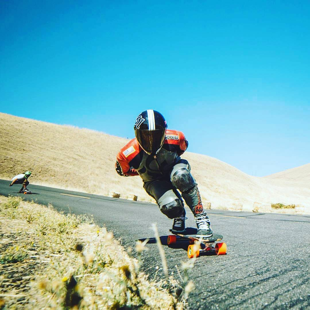 From @eastsidelongboards -  Thanks to @skatography for this sweet snap! From the last @maryhillratz #fallfreeride #maryhill #maryhillfreeride #predatordh6 #daddiesboardshop #kegels #eastsidelongboards #eastsiderelic #regrann