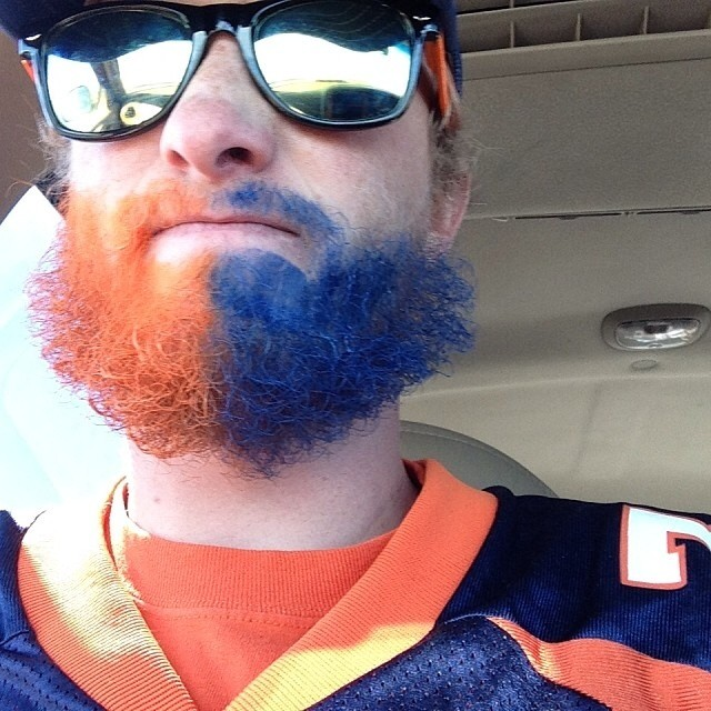The winner of our Champ contest is @bschleich1992 for rocking this Bronco beard. Chosen for extreme fandom and for the fact that it looks like he took this picture while driving, which, while sketchy, is also commendable. Email your address to...