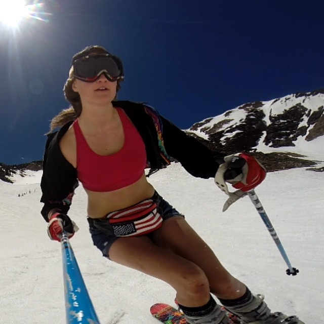 Took the new GoPro out for a spin at Snowbird closing day. Big thanks to @protectourwinters and @discreteclothing for the hook up! #UnitedWePOW #jorts #closingweekend #skiutah