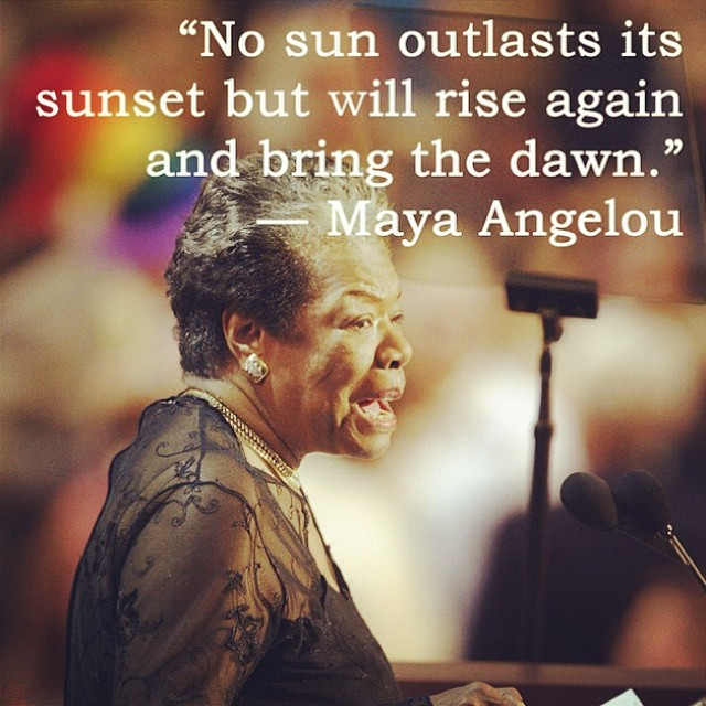 Honoring an incredible woman and leader today. #mayaangelou #inspiration #womenleaders #changetheworld