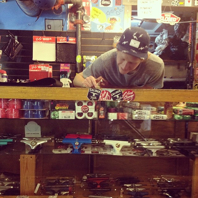 If you're in Santa Cruz, hit up @pacificwave in downtown! They can hook you up with all of the #calibertrucks you need!
