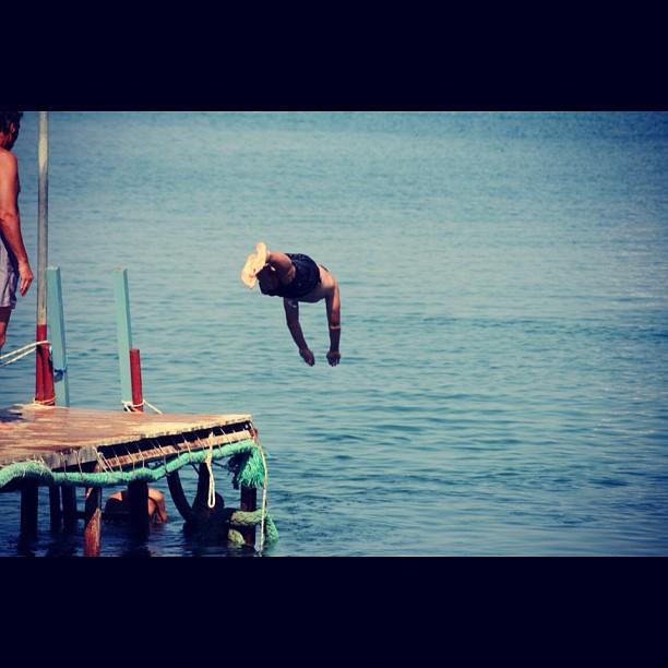 Diving !