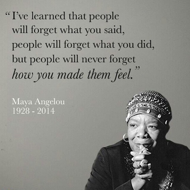 "The world lost a ""phenomenal woman"" and beautiful soul brimming with wisdom today. Be kind, spread love. #RIPMayaAngelou #MayaAngelou"