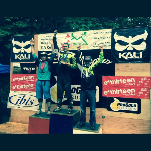 Kali all mountain rider, Jason Moeschler, took 2nd overall in the King of the Hill race at last weekend's Ashland Spring Thaw event. Fitness and speed...a deadly combo! Congrats from the entire Kali Protectives team! #kaliprotectives