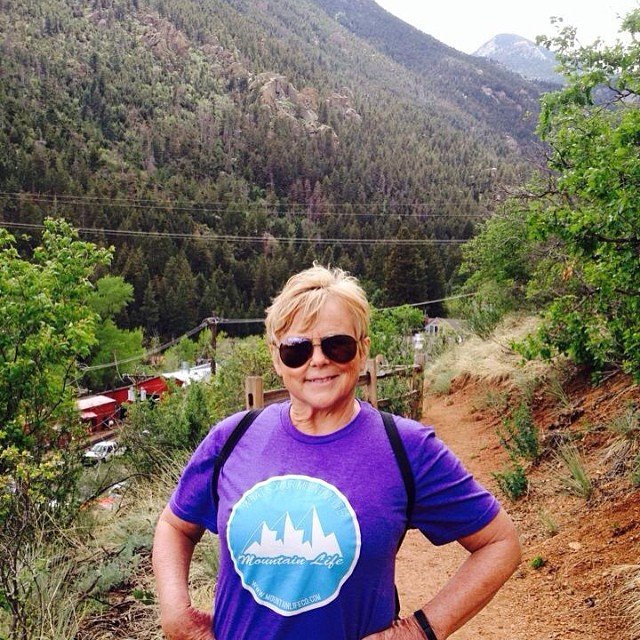 "It's #mountainlifeco #women #wednesdays this woman is beyond an inspiration. She's a mom, dog-walker, loyal and honest friend and a #cancer #survivor this is her hike up the #incline in #Manitou, an incredible accomplishment! ""What's Your..."