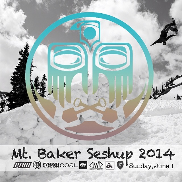 This weekend. It's on. Come throw down with the best of the #nw and score some new Coal goods for the summer | #mtbakerseshup @mtbakerskiarea