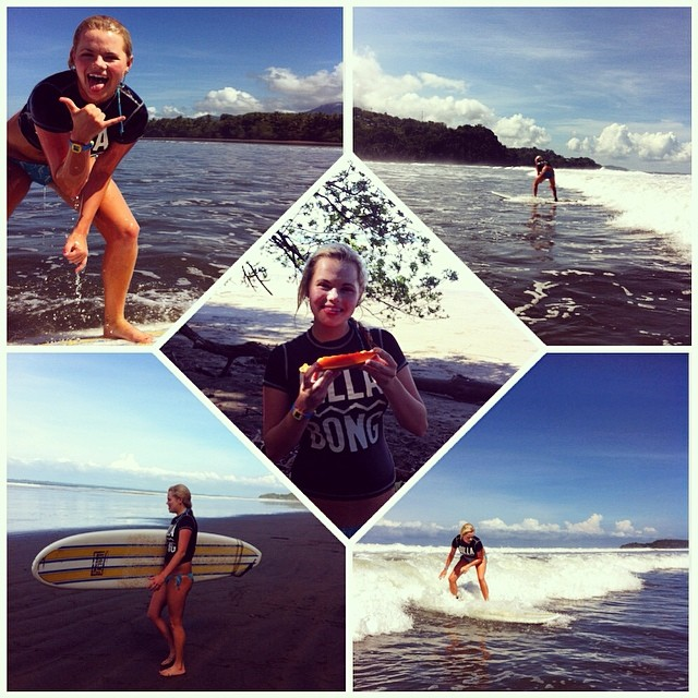 Having a blast hanging with this surf, papaya, and ocean-loving gal! Have we mentioned how stoked our guests make us?