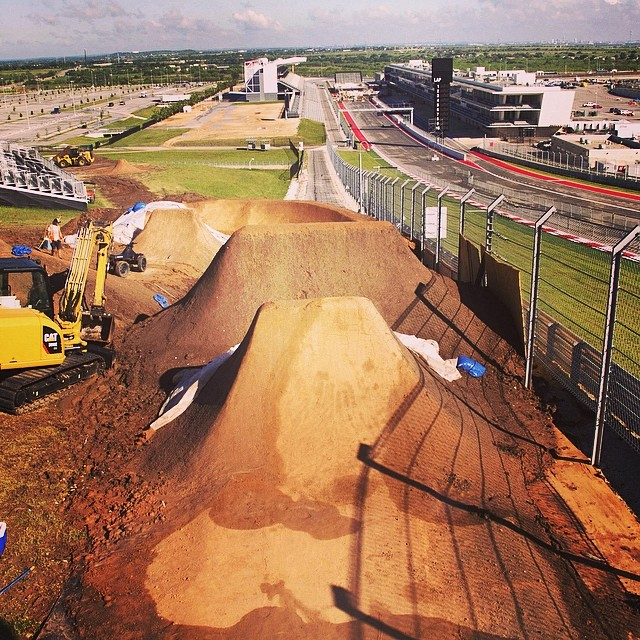 Almost time to drop in! #XGamesAustin #bmxdirt