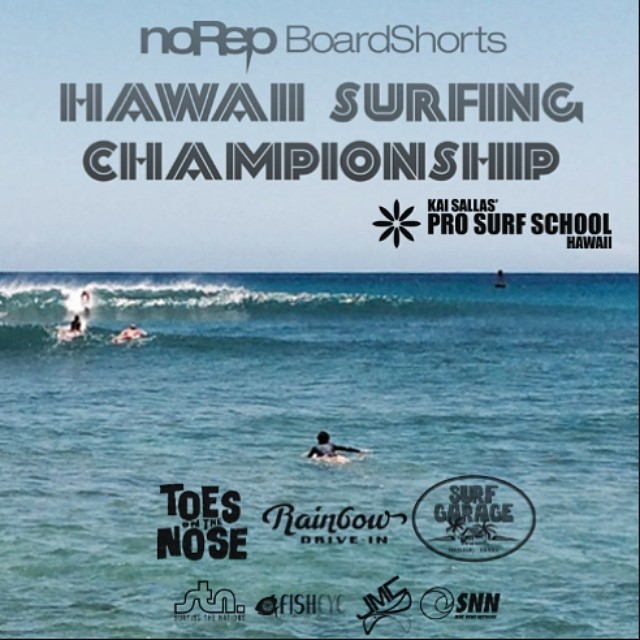 Surf News Network is forecasting a new SSW swell building late Saturday and peaking Sunday, 4' solid!  Open spots are still available for the Open Team Challenge, Men's Pro Longboard and Women's Pro Shortboard. Go to hawaiisurfingchampionship.com if...
