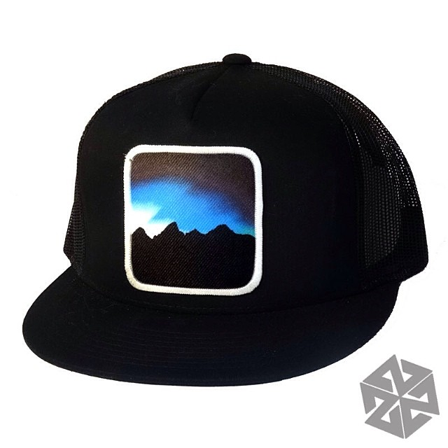 New Journey Series Snapbacks in our online store right now. Limited edition of 50, hand numbered and handcrafted in the Tetons!  Get yours at www.avalon7.co #avalon7 #thinkoutside #tetons