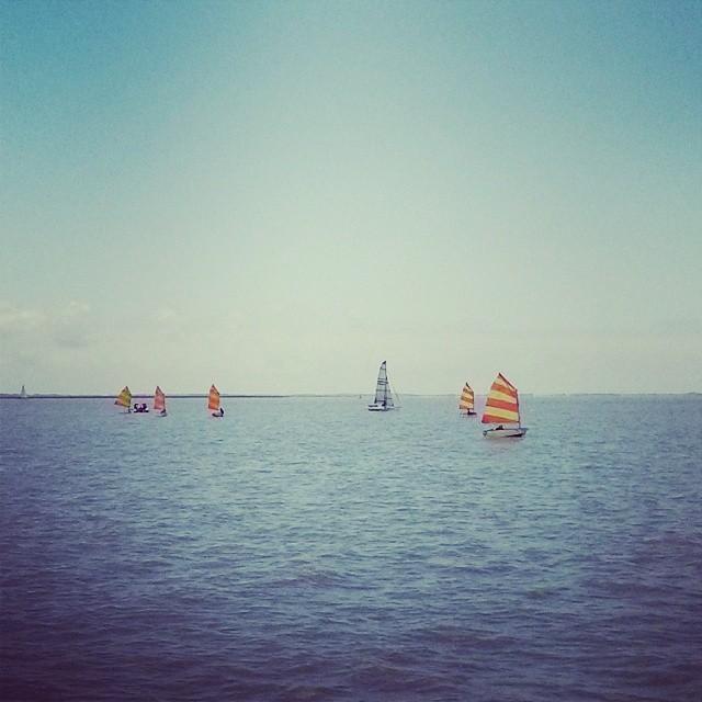 GONE SAILING. #riodelaplata #buenosaires #donatuvela #sailing
