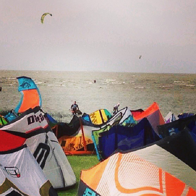 #campeonato argentino de #kite en #laplata. #donatuvela #kitesurf #mafiabags #championship