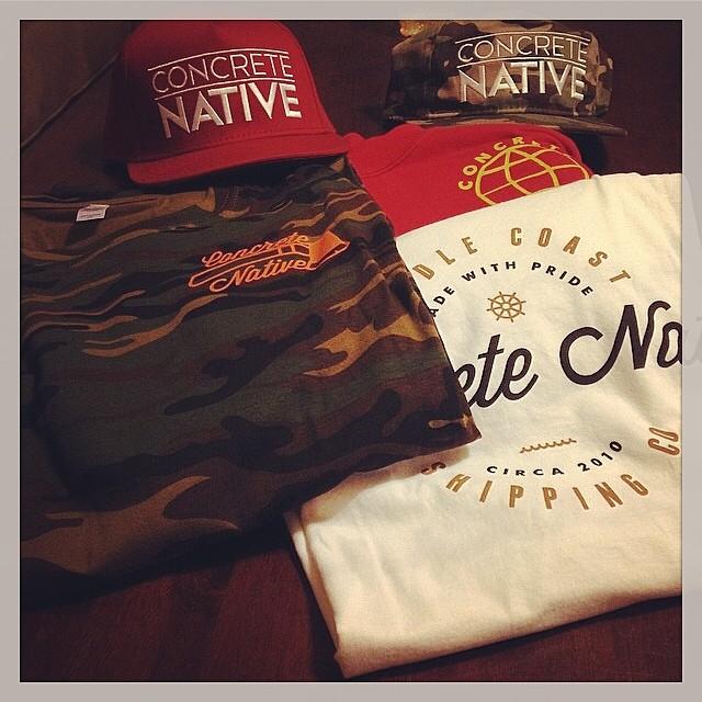 Regram from @2masman He got his new #concretenative gear! Go and get get yourself some at concretenative.com! #newshit #pushingforward #snapback #shirt #crewneck