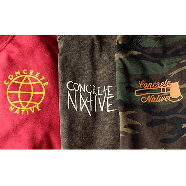 Spring '14 preview. Keep an eye out for our new website and newly stocked web store. Coming soon! #concretenative #pushingforward #spring #2014 #newshit #skatelife