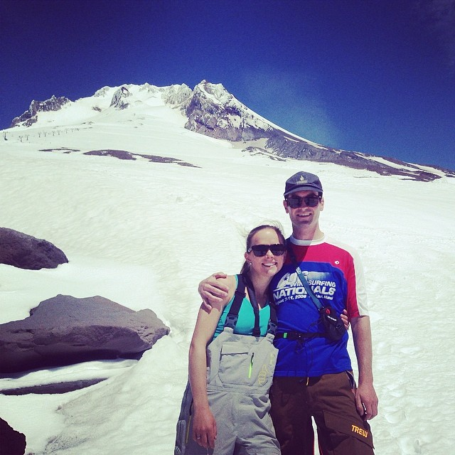 #notoverit. Great afternoon for a skin up the miracle mile at @timberlinelodge #volcanoslaying