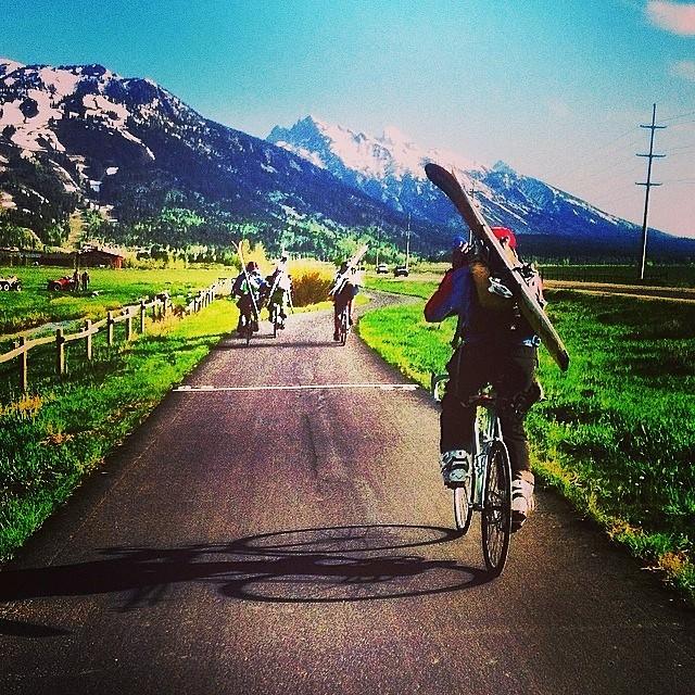 #HappyFriday #bikerides #skiing #getoutside #liveyouradventure