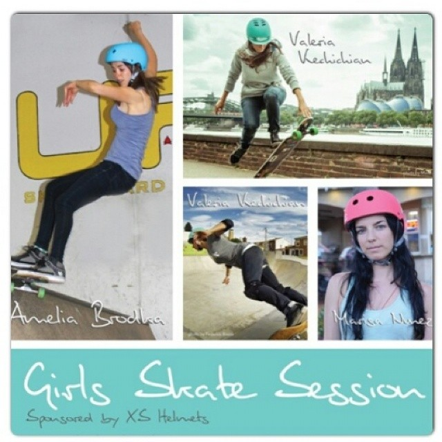 Hey Vancouver,  did you know @xshelmets is having a FREE girls skate jam on Sat June 14th from 6-8pm at the Smiling Buddha Cabaret. Come check it out!