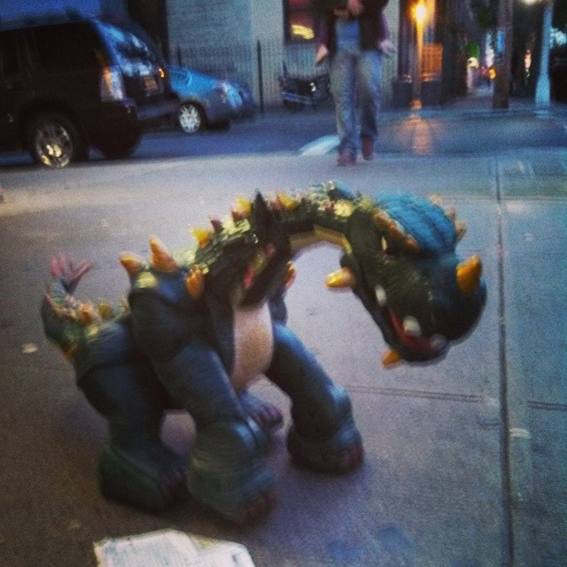 Dinosaurs in NYC