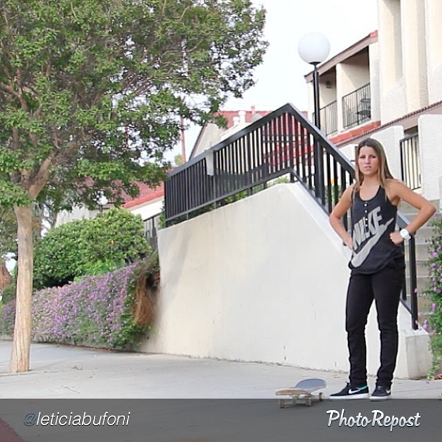 Wow, @leticiabufoni is now on @nikesb! Huge move, congrats! #skateboarding #skate #skatelife