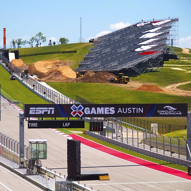 Taking in the view! #BMXDirt #XGamesAustin