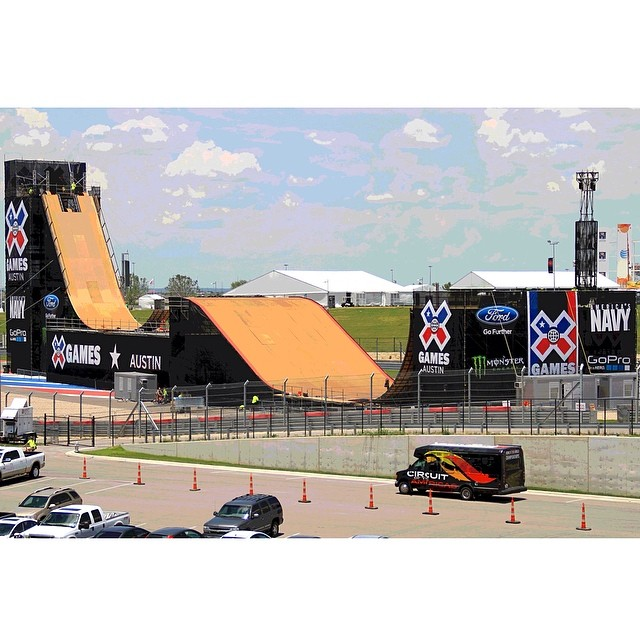 Huge week on tap here in Austin! Start making plans by downloading the 'X Games Austin' mobile app and checking out the full TV schedule at XGames.com #xgamesaustin