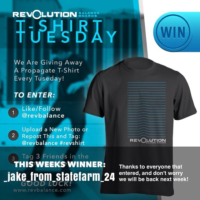 Congrats to @_jake_from_statefarm_24 for winning this weeks T-shirt giveaway, make use to give him a follow. But, don't worry we will be back again this Tuesday with another giveaway!