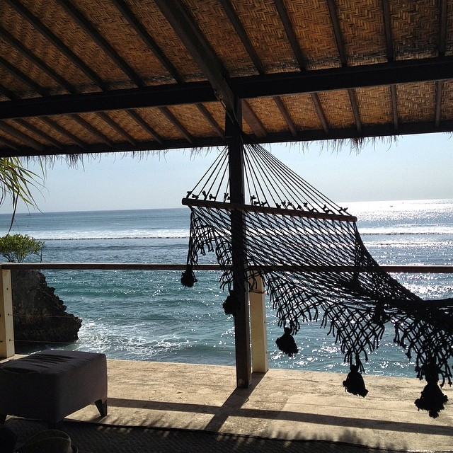 The Good Life #hammock #bali #lifeisgood #bingin #beachlife