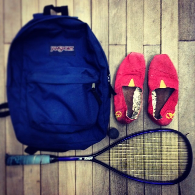 ¿Se puede jugar al squash con unas QA?  #QAteam 2 #danilomarini 1 www.QA.com.ar