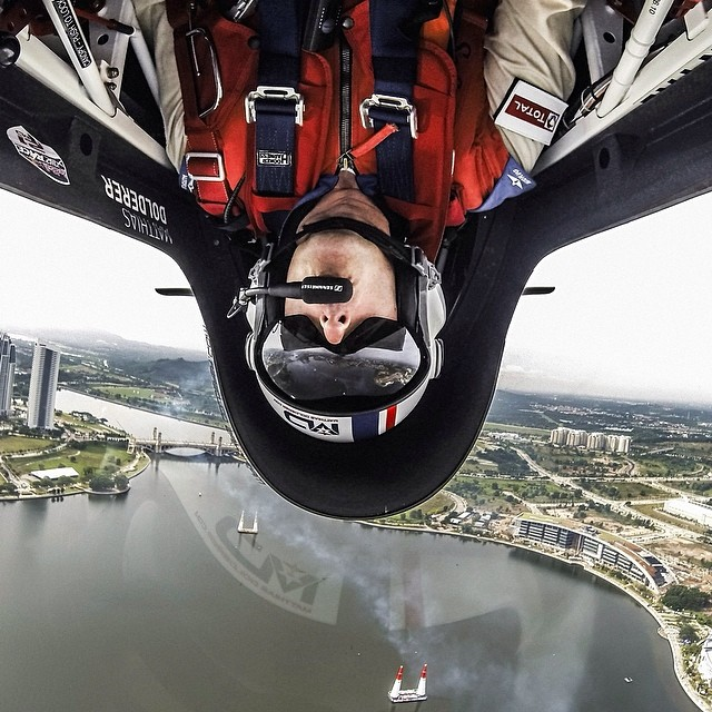 Bottoms up! Tune in to @FoxSports1 for the best action from @RedBullAirRace Putrajaya Malaysia